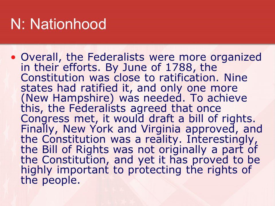 N: Nationhood