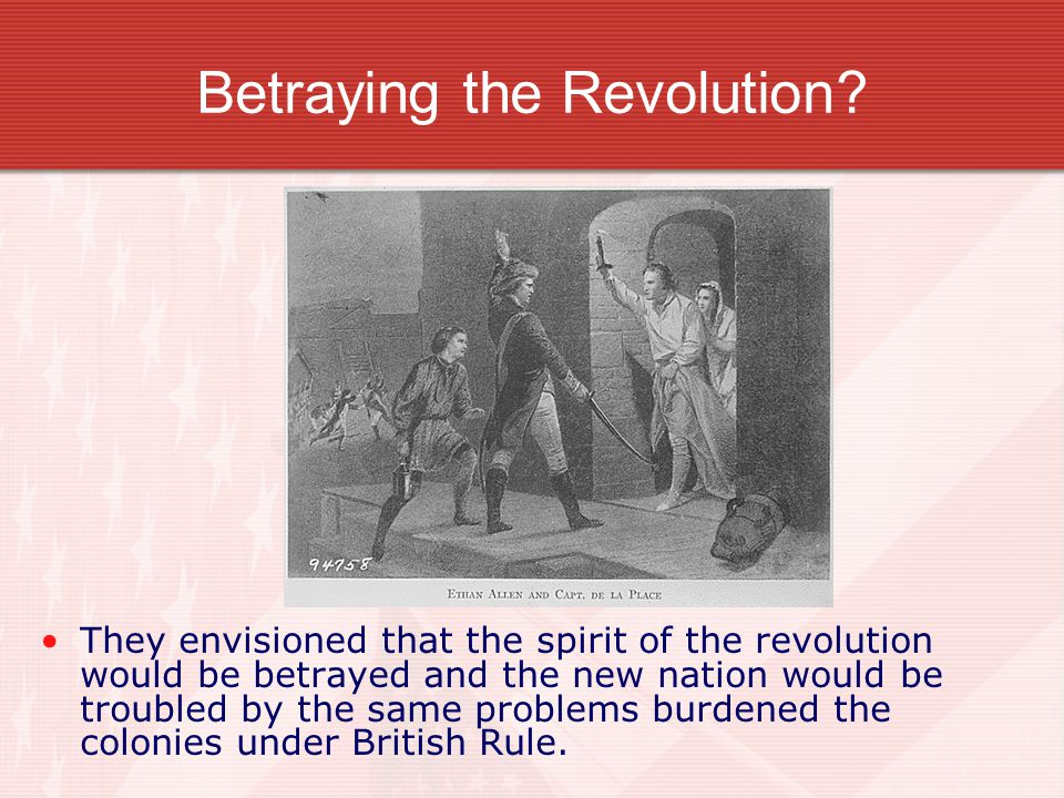 Betraying the Revolution