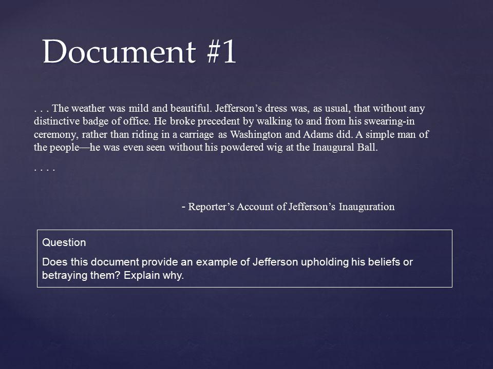 Document #1