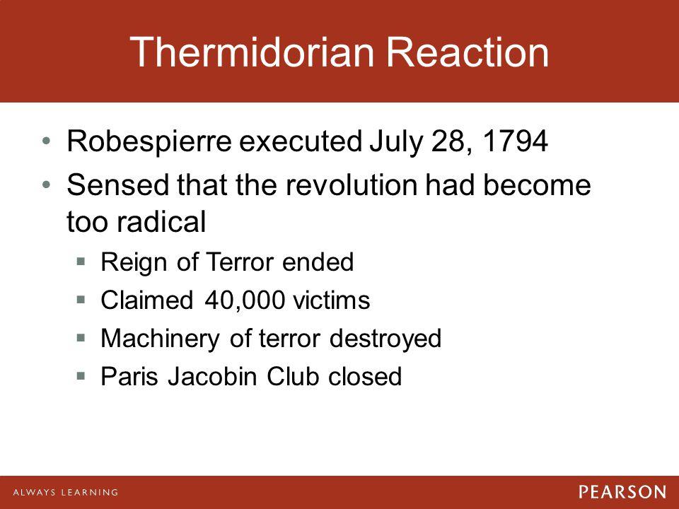 Thermidorian Reaction