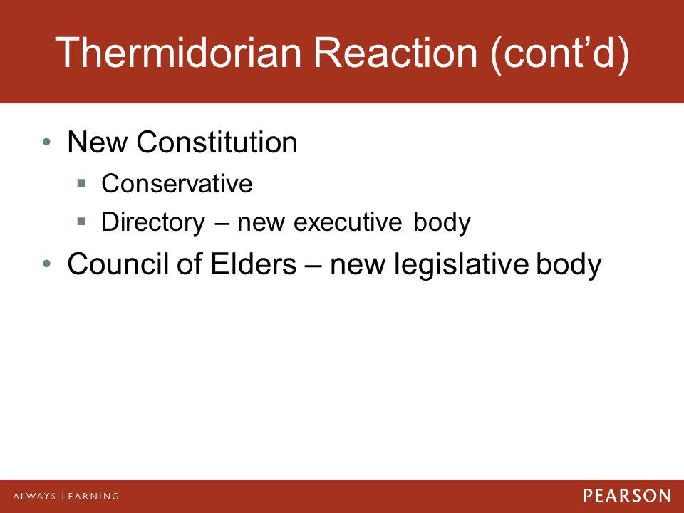Thermidorian Reaction (cont'd)