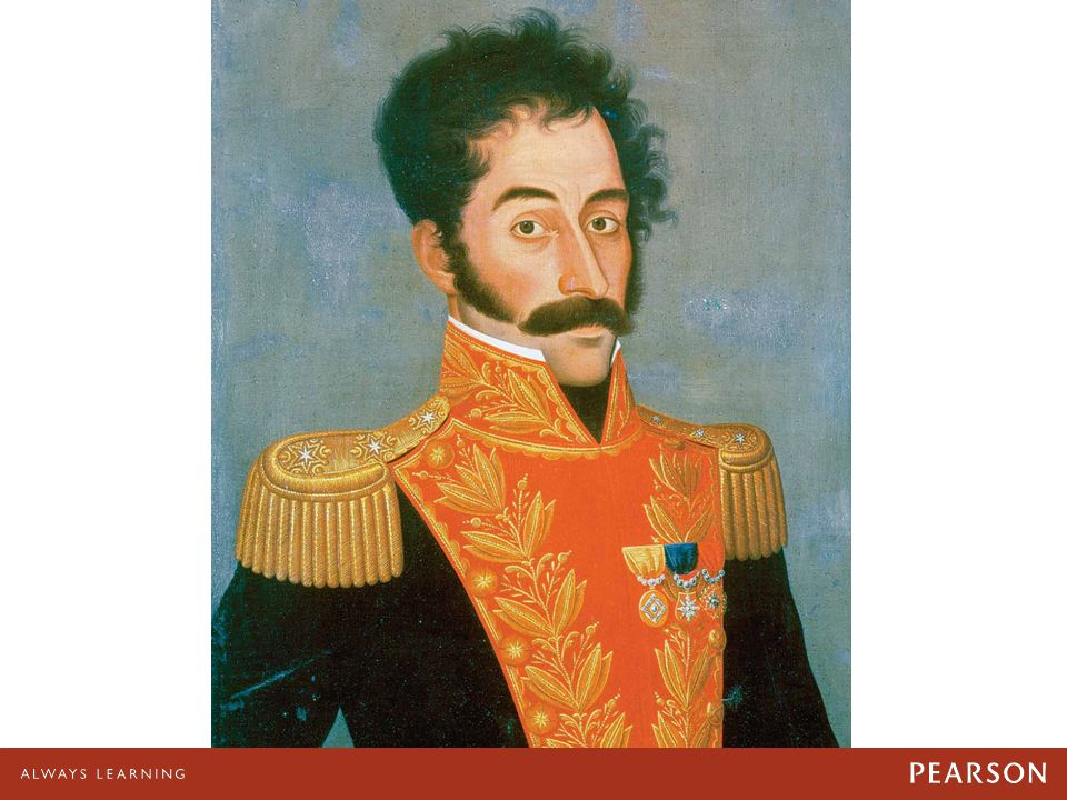 04/28/11 Simón Bolívar. Simón Bolívar. Bolívar was the liberator of much of Latin America. He inclined toward a policy of political liberalism.