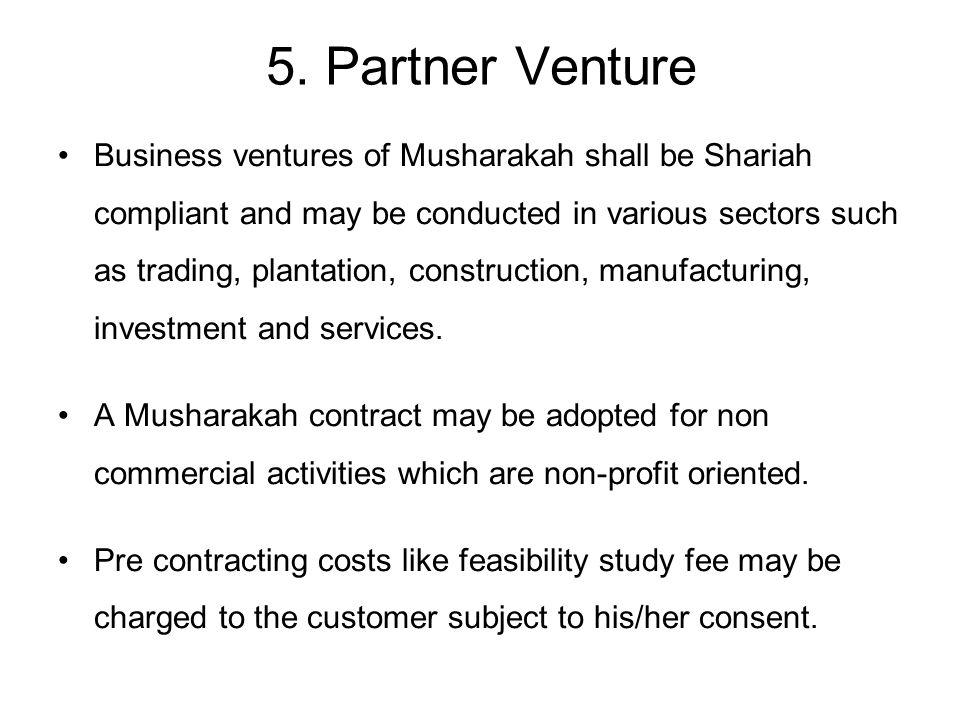 5. Partner Venture
