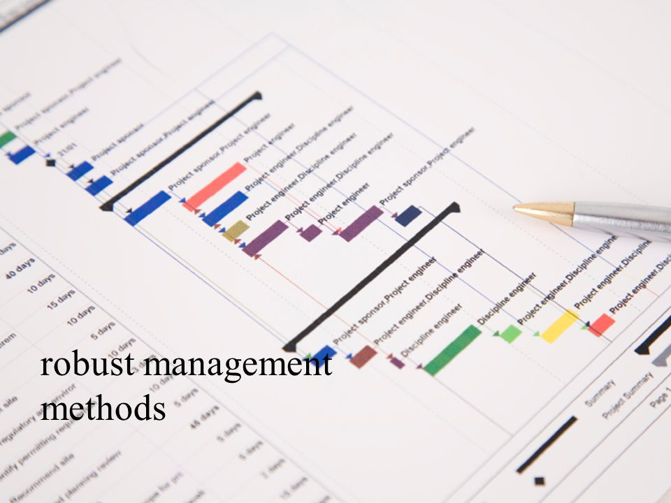 robust management methods