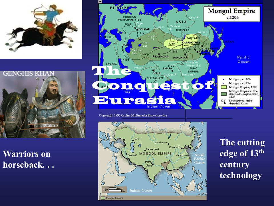 The Conquest of Eurasia