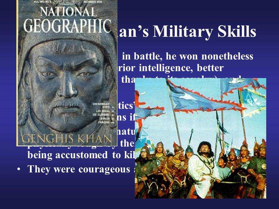 Genghis Khan's Military Skills