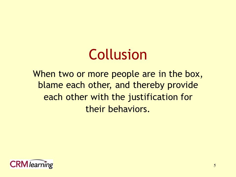 each other with the justification for
