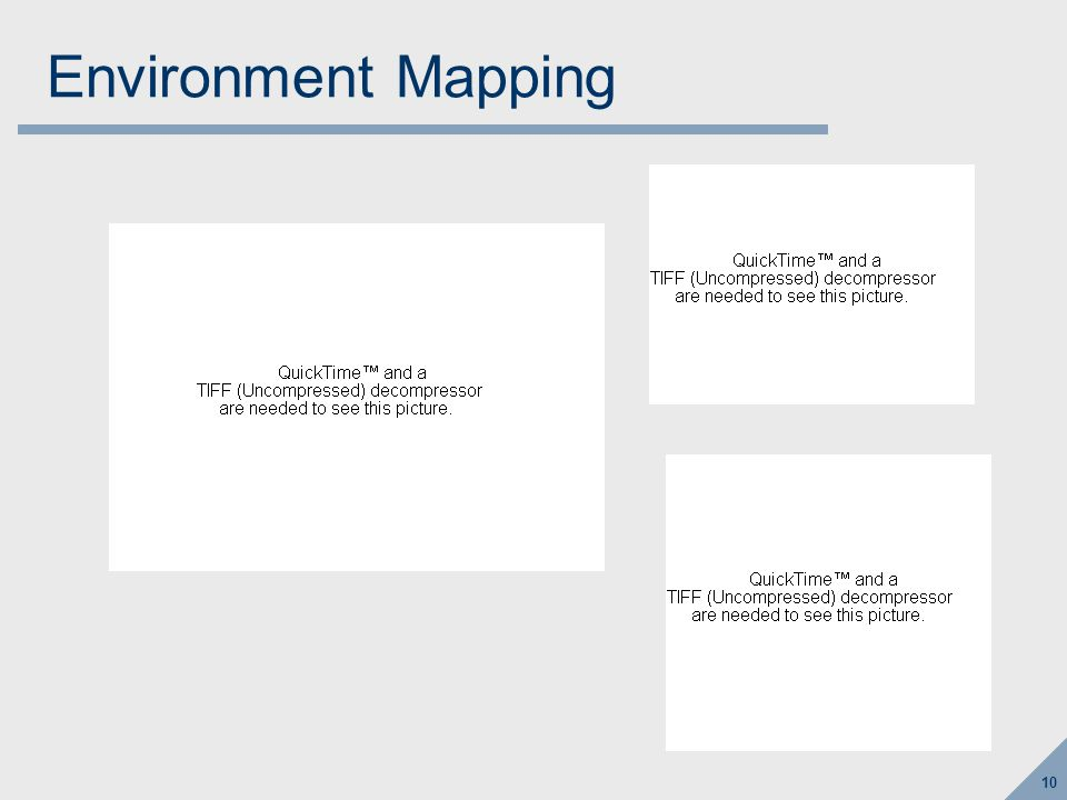 Environment Mapping (www.sparse.org)