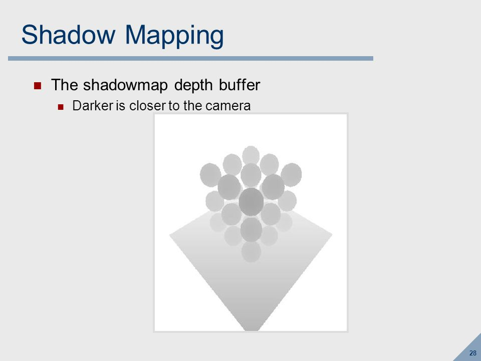 Shadow Mapping Visualization…