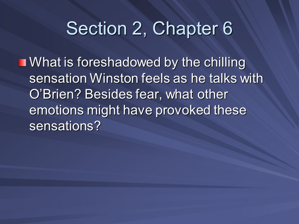 Section 2, Chapter 6