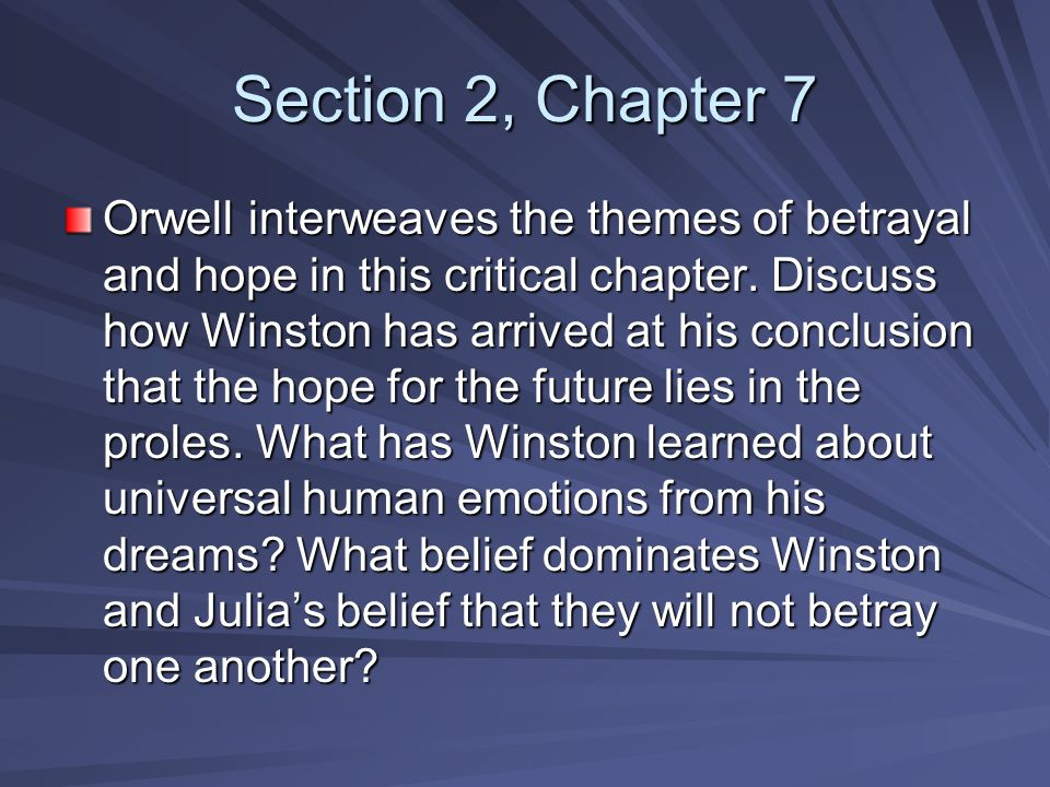 Section 2, Chapter 7