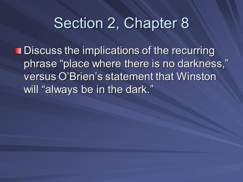 Section 2, Chapter 8