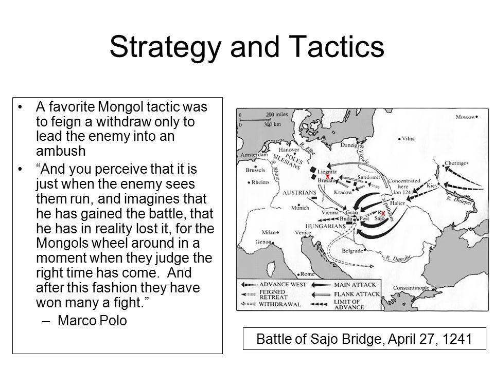Battle of Sajo Bridge, April 27, 1241