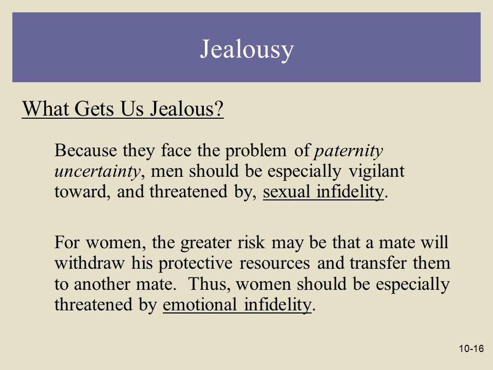 Jealousy What Gets Us Jealous