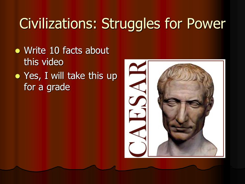 Civilizations: Struggles for Power