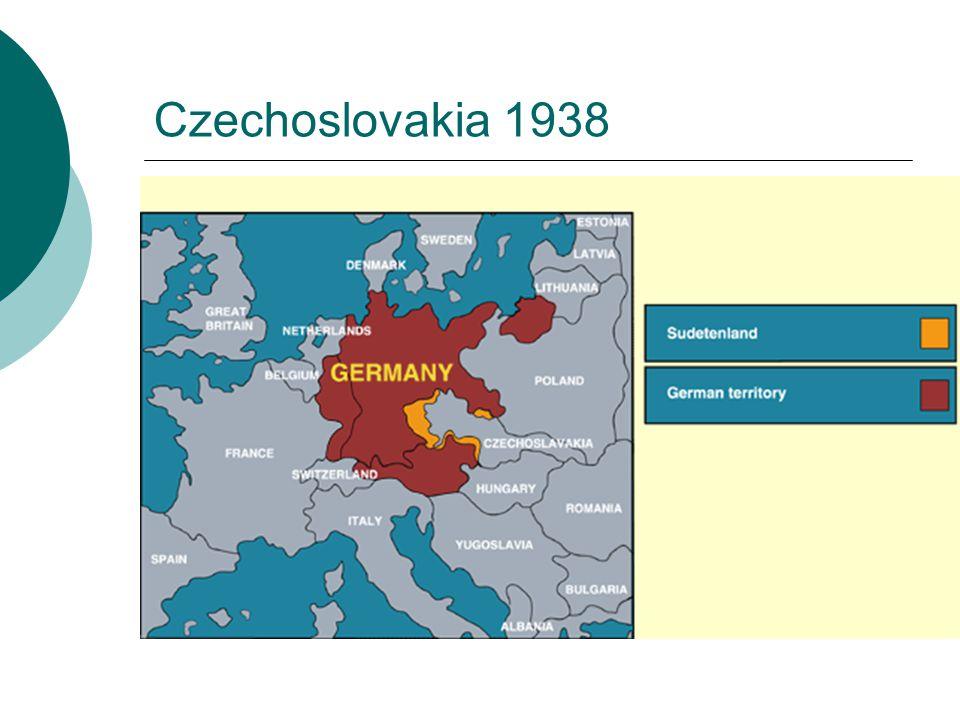 Czechoslovakia 1938