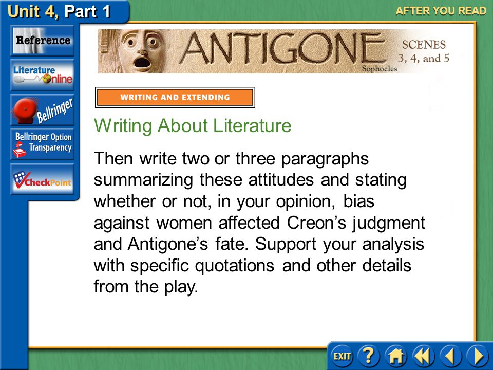 Writing About Literature