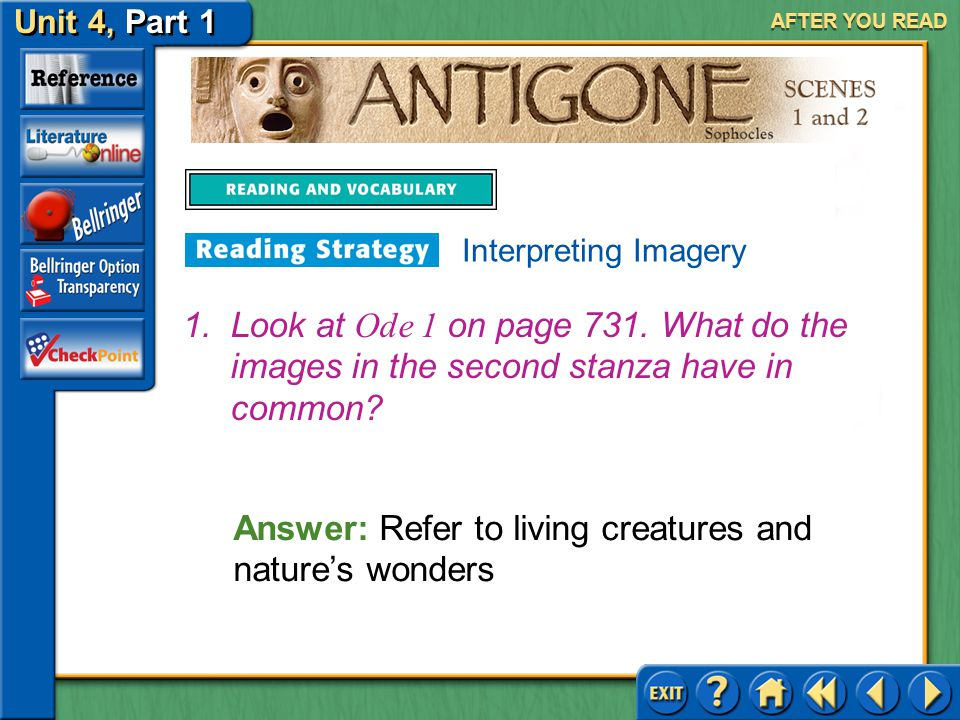 Answer: Refer to living creatures and nature's wonders