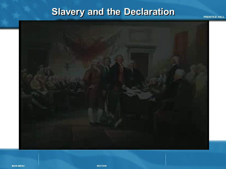 Slavery and the Declaration