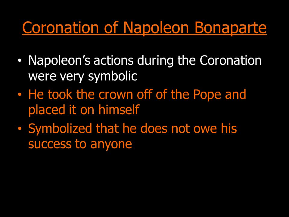 Coronation of Napoleon Bonaparte