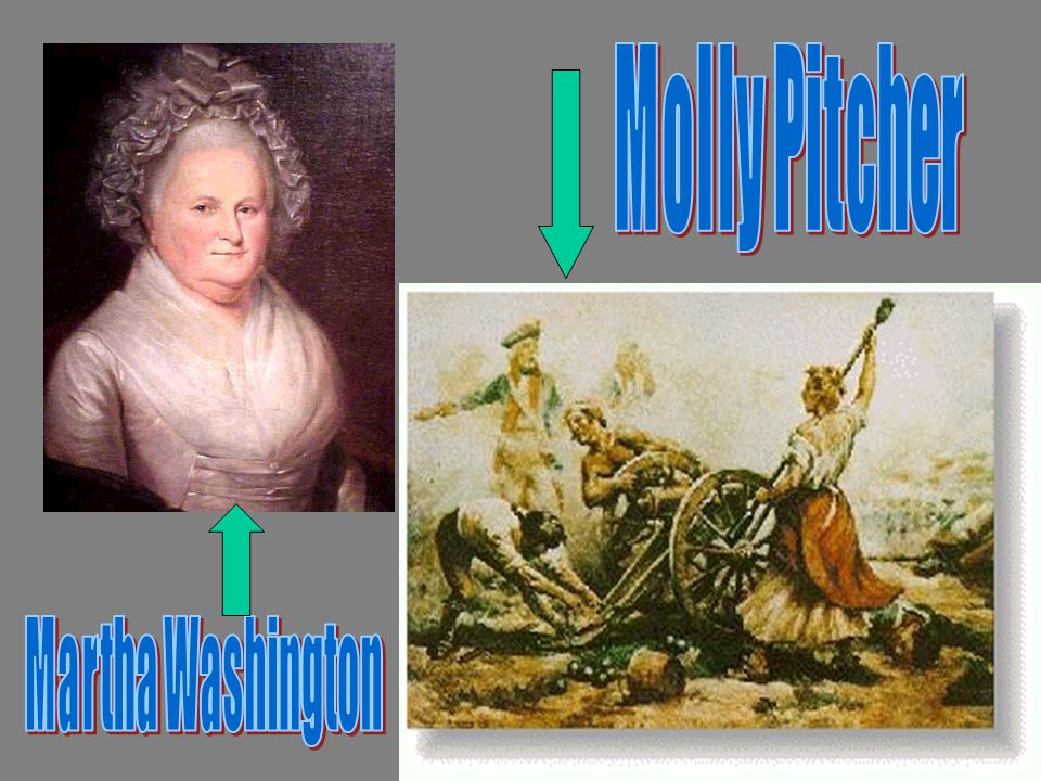 Molly Pitcher Martha Washington