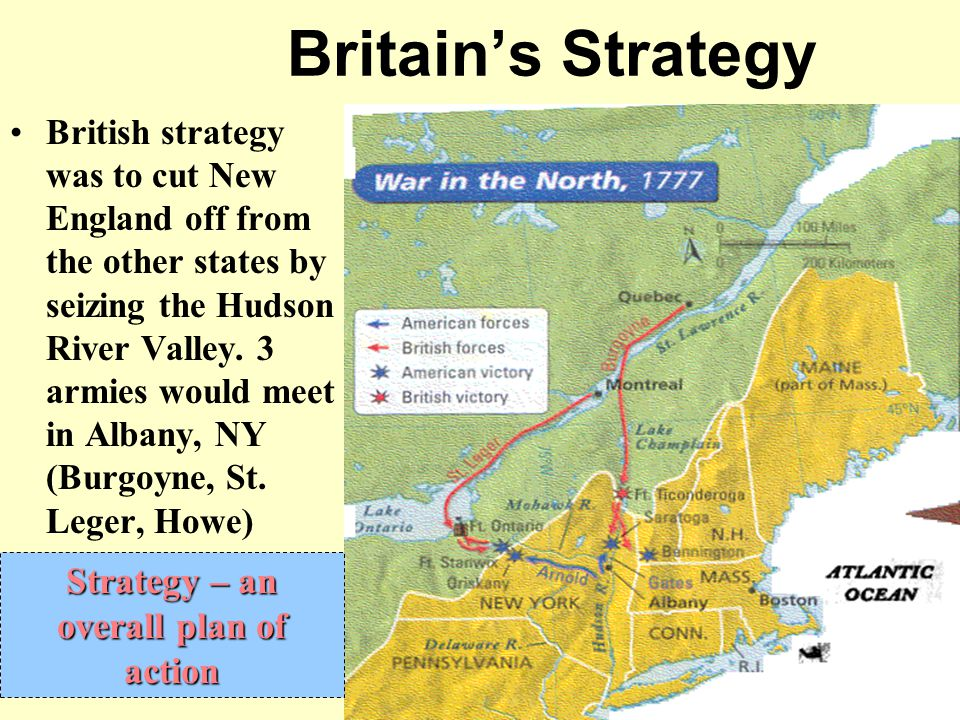 Strategy – an overall plan of action