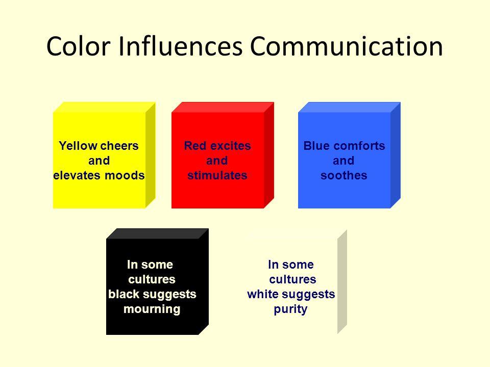 Color Influences Communication