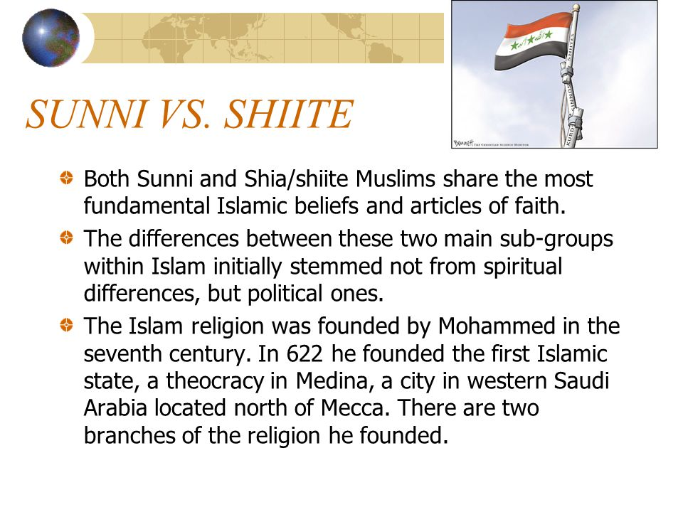 islam the sunnis and shiites Shia and sunni islam - what are the differences what are the two main divisions of islam are there more shiite muslims or sunni muslims.