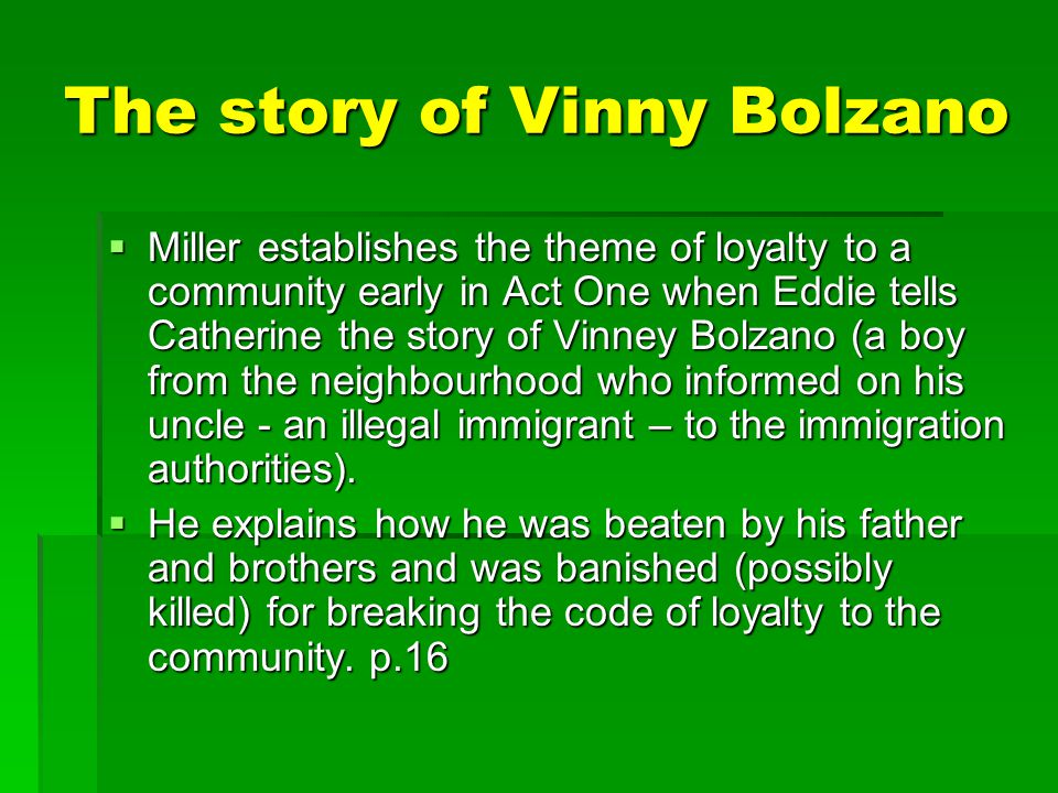 The story of Vinny Bolzano