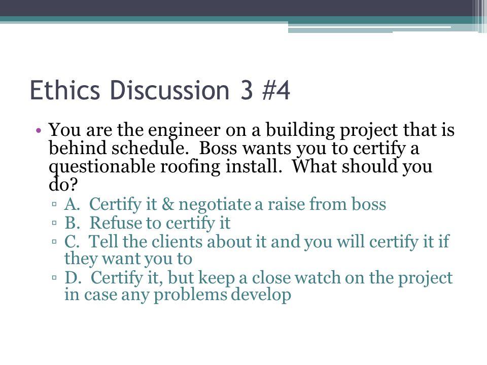Ethics Discussion 3 #4
