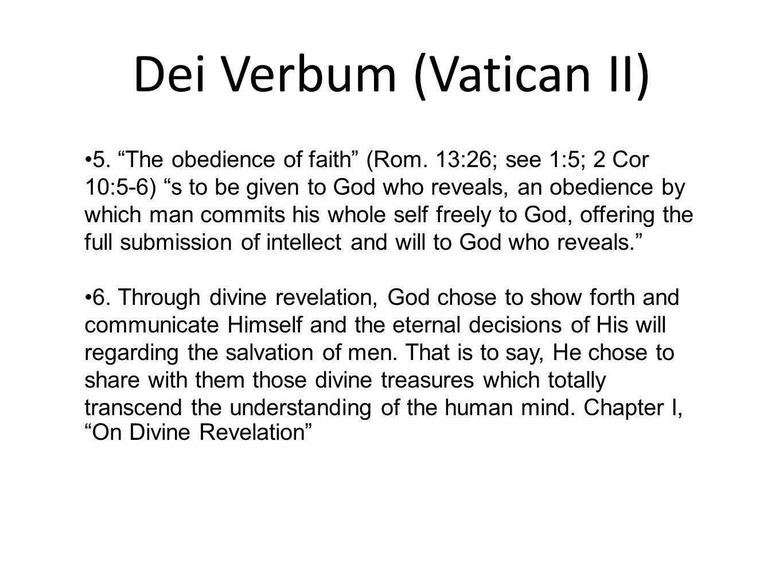 Dei Verbum (Vatican II)