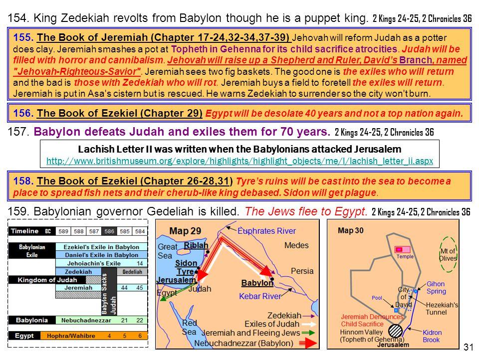 Lachish Letter II was written when the Babylonians attacked Jerusalem