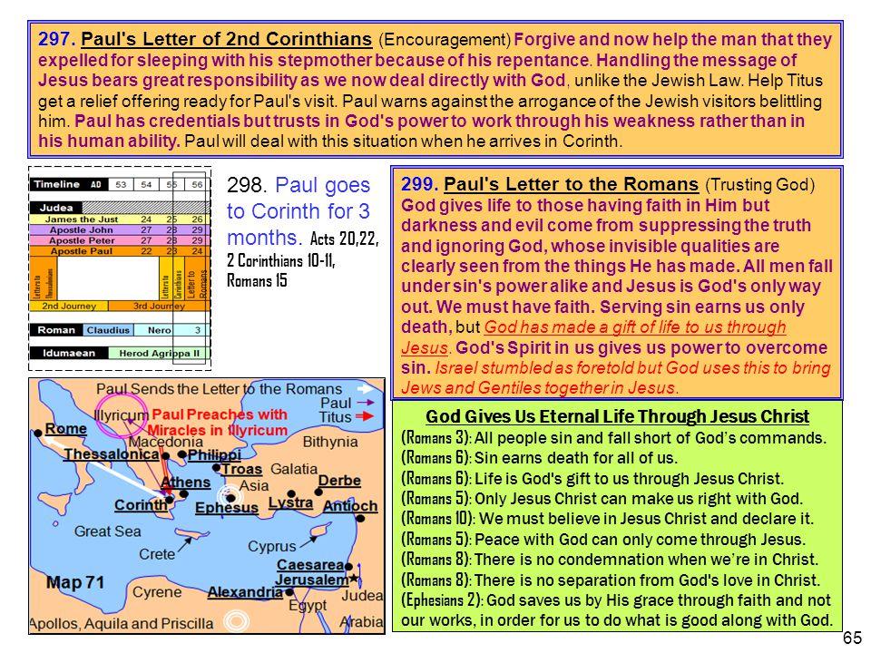 God Gives Us Eternal Life Through Jesus Christ