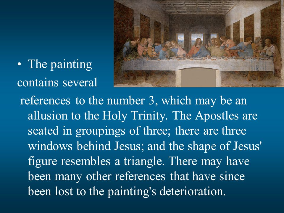 The painting contains several.