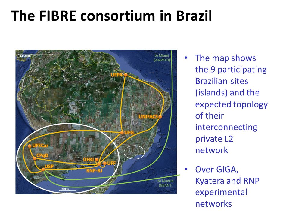 The FIBRE consortium in Brazil