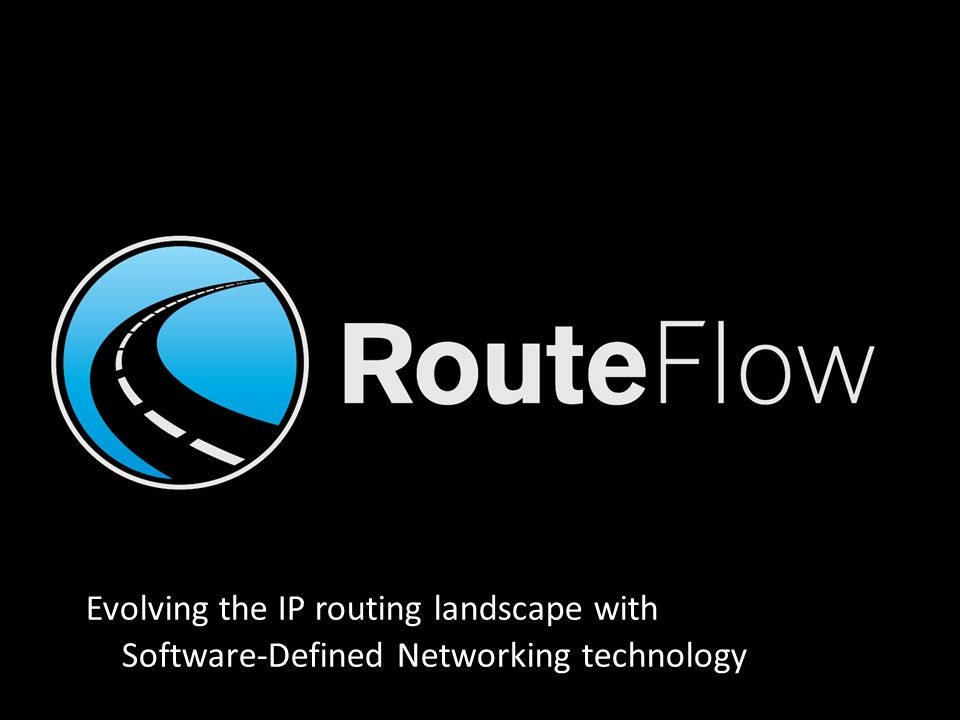 Evolving the IP routing landscape with Software-Defined Networking technology