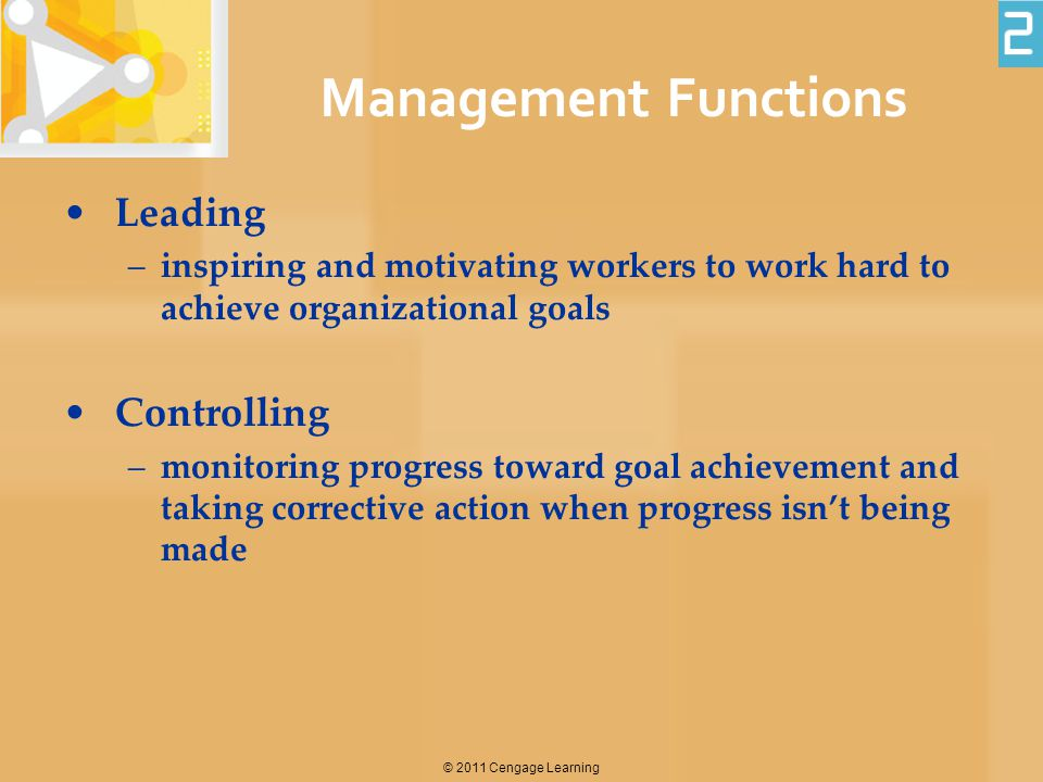 Management Functions Leading Controlling