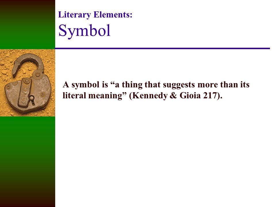 Literary Elements Symbol Ppt Video Online Download
