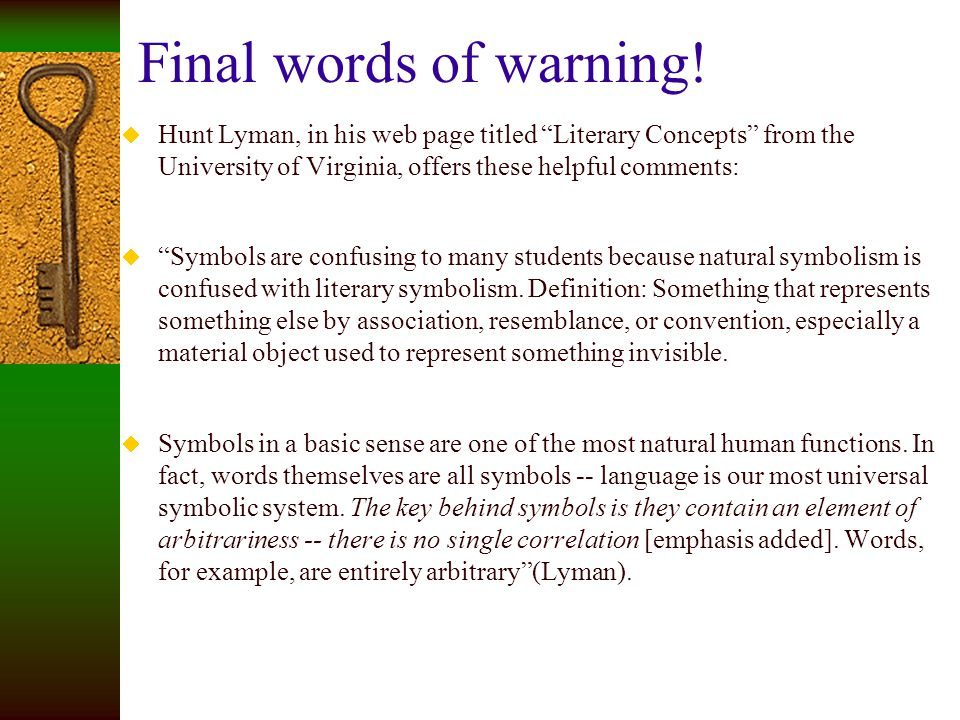 Literary Elements Symbol Ppt Video Online Download
