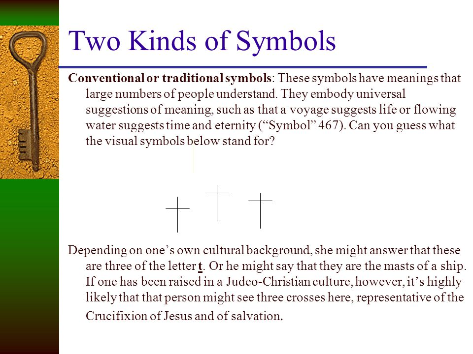 Two Kinds of Symbols
