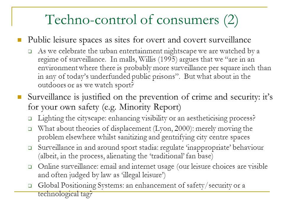 Techno-control of consumers (2)