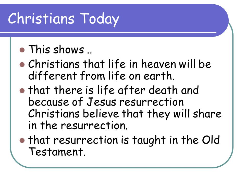 Christians Today This shows ..