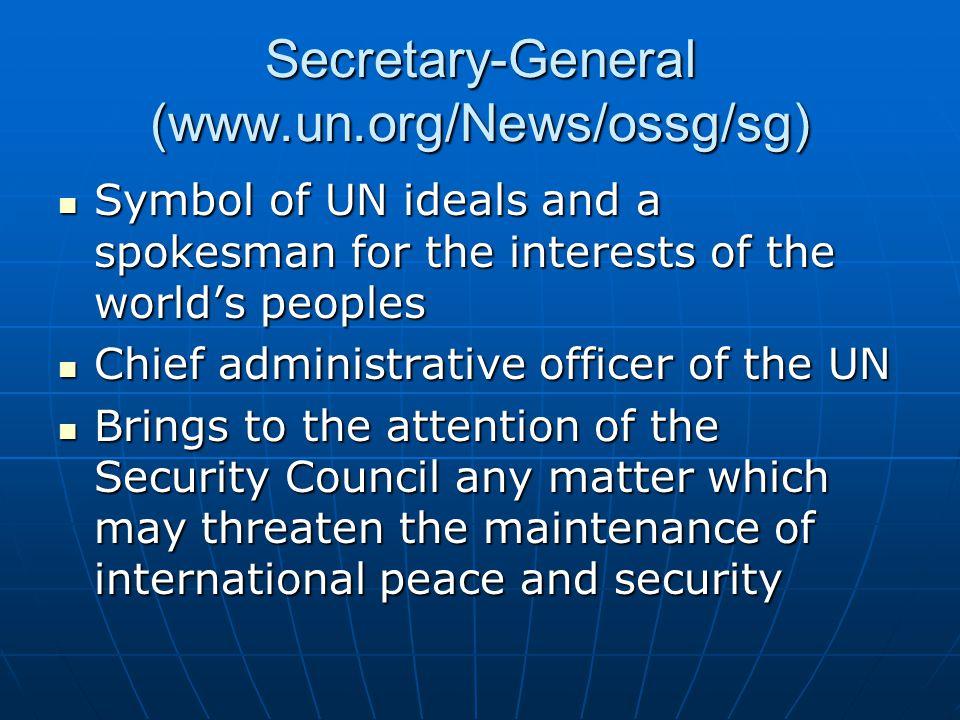 Secretary-General (www.un.org/News/ossg/sg)