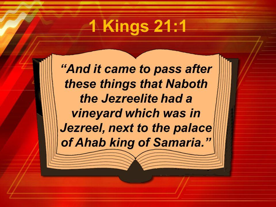 1 Kings 21:1