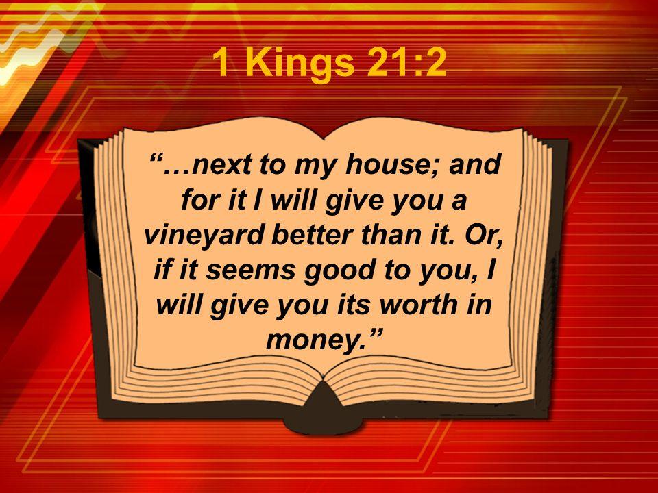 1 Kings 21:2