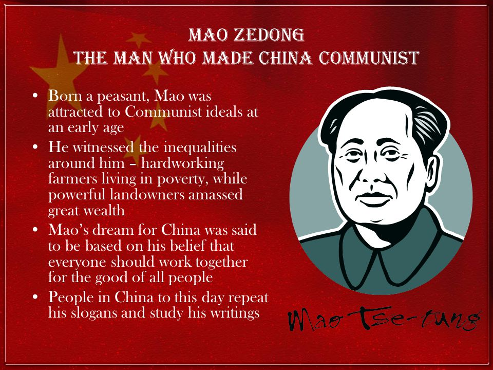 Mao Zedong The man who made China Communist