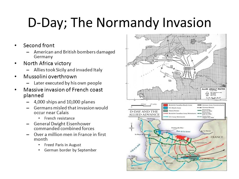 D-Day; The Normandy Invasion