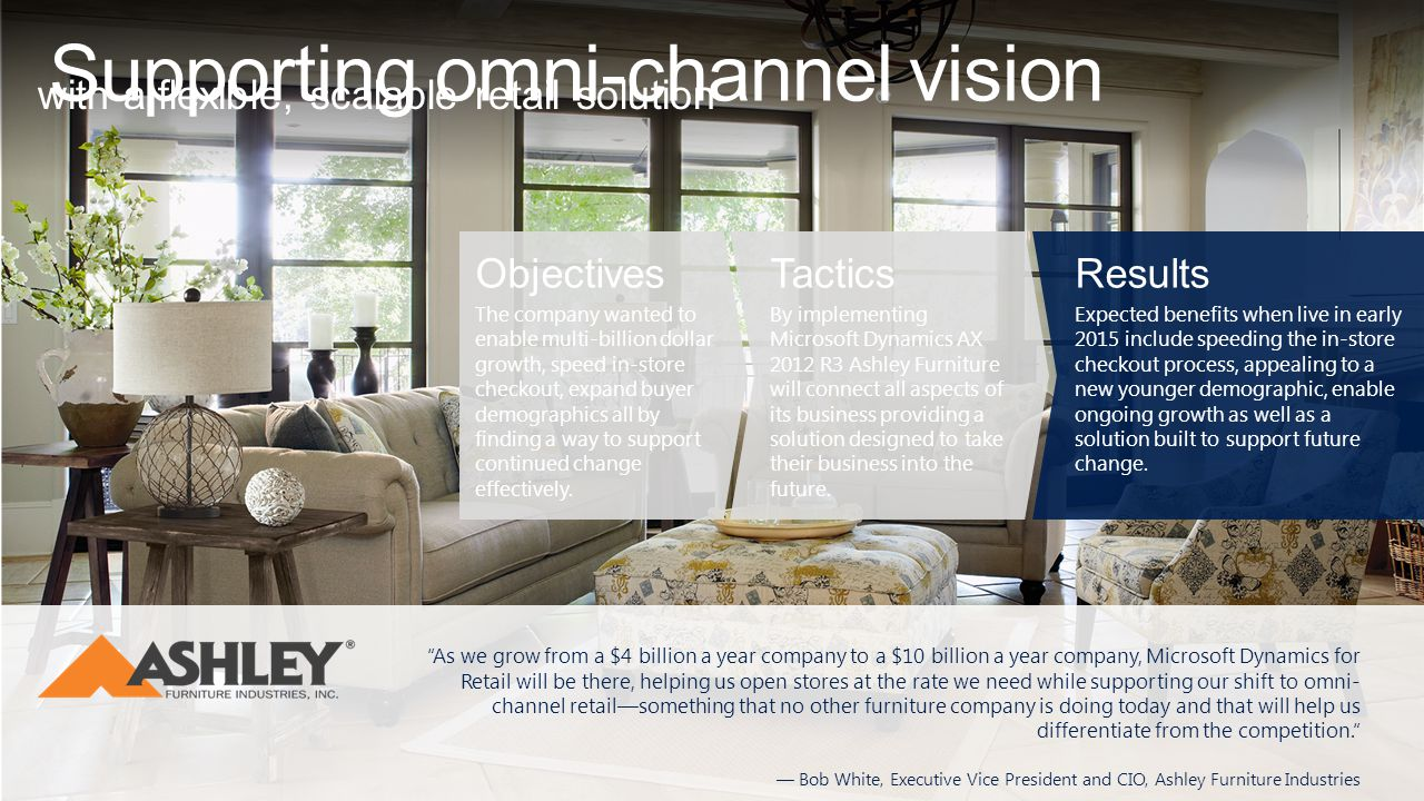 Supporting omni-channel vision