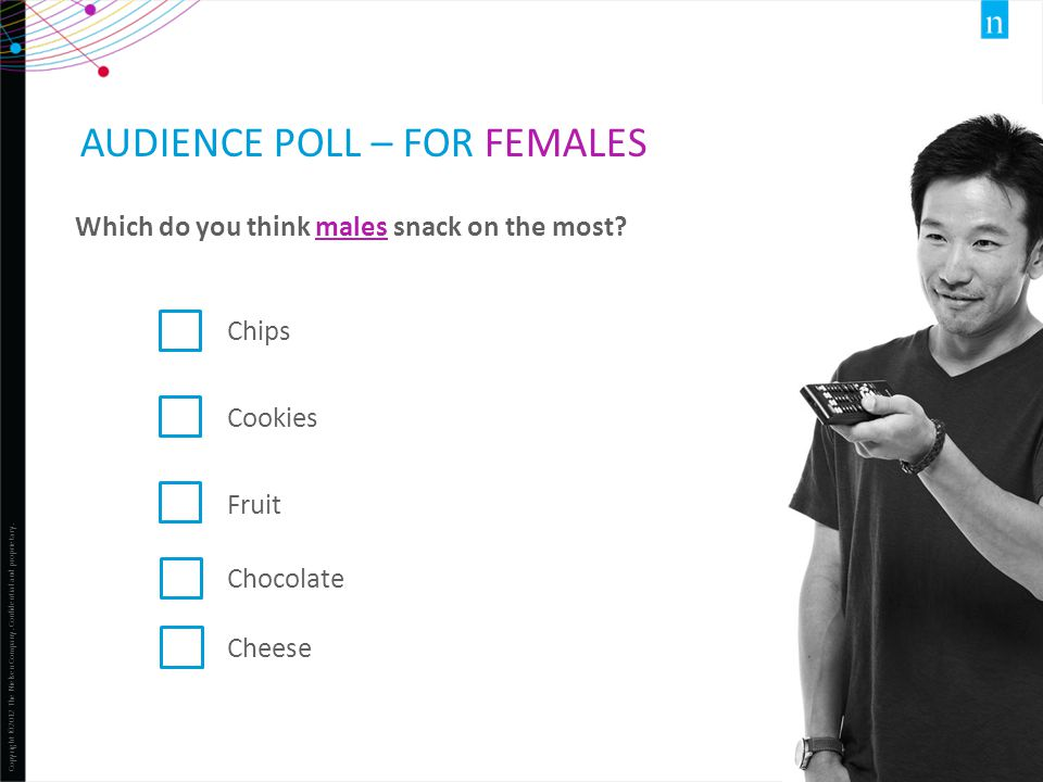 Audience Poll – for females