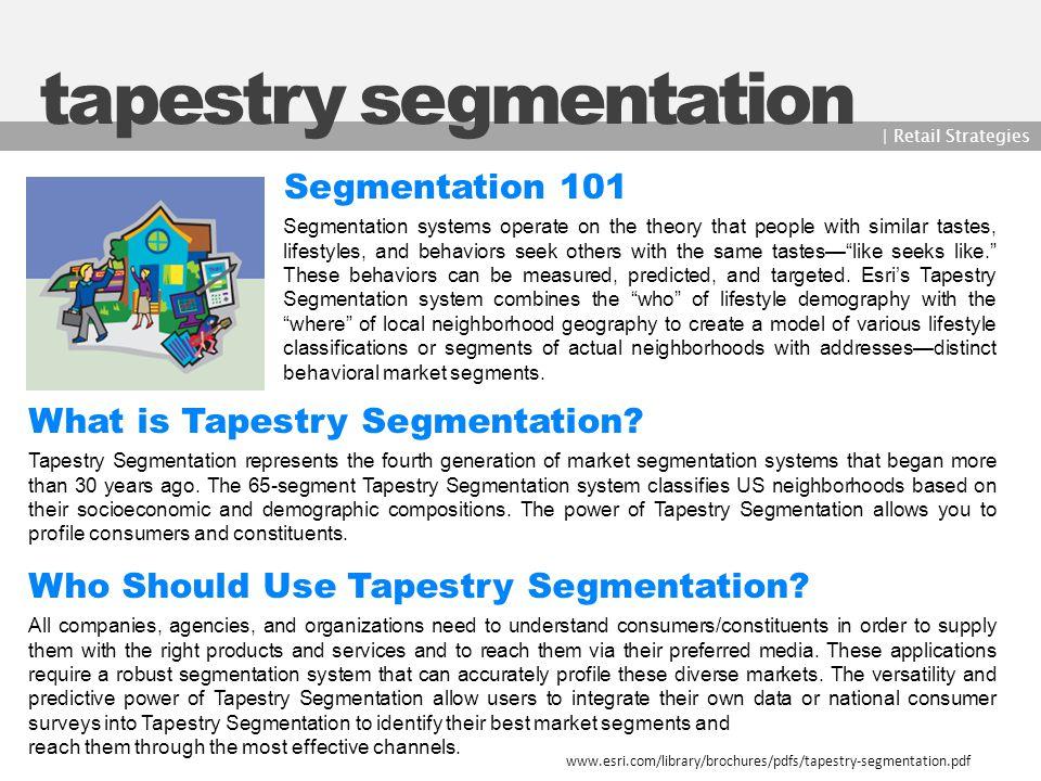 tapestry segmentation